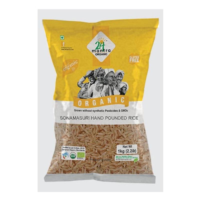 24 Mantra Sonamasuri Raw Rice Brown