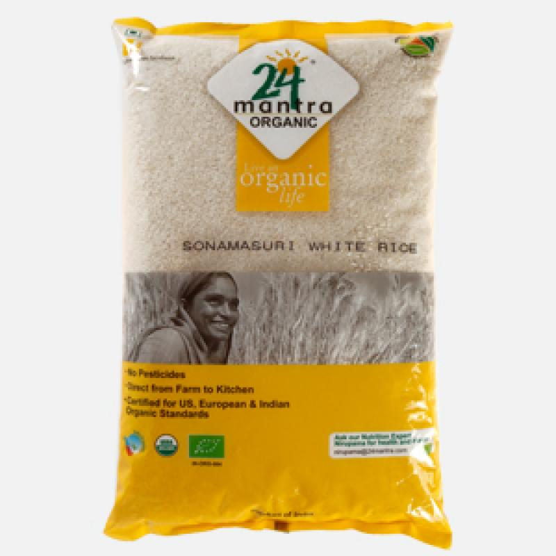 24 Mantra Sonamasuri Raw Rice Polished