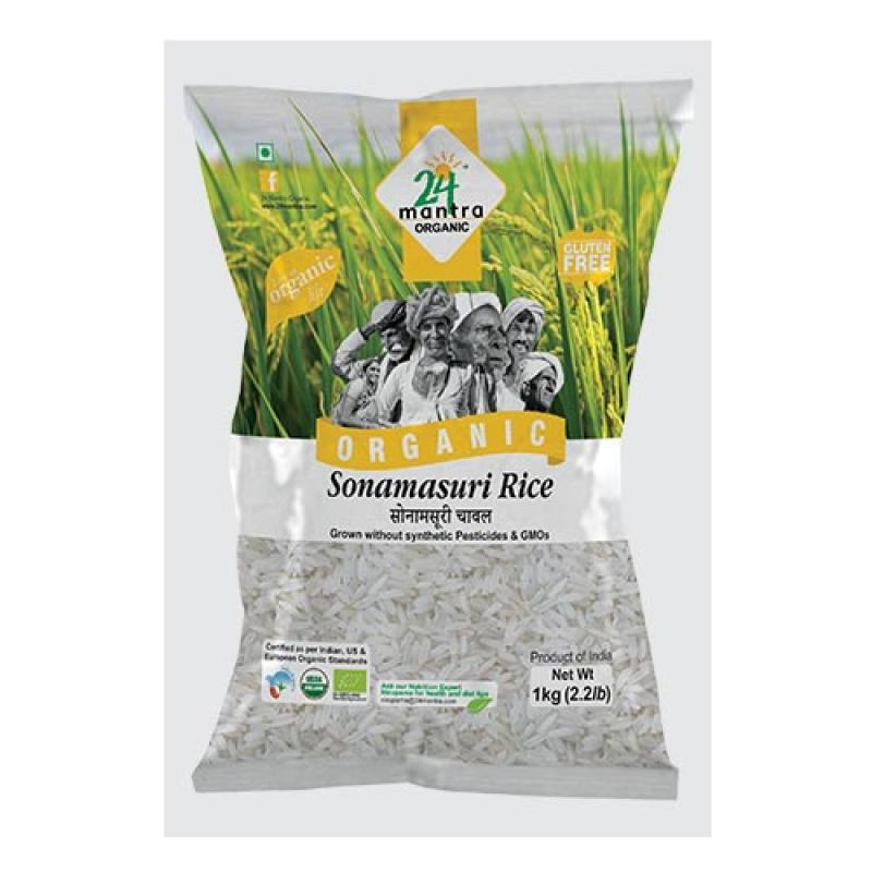 24 Mantra Sonamasuri Raw Rice