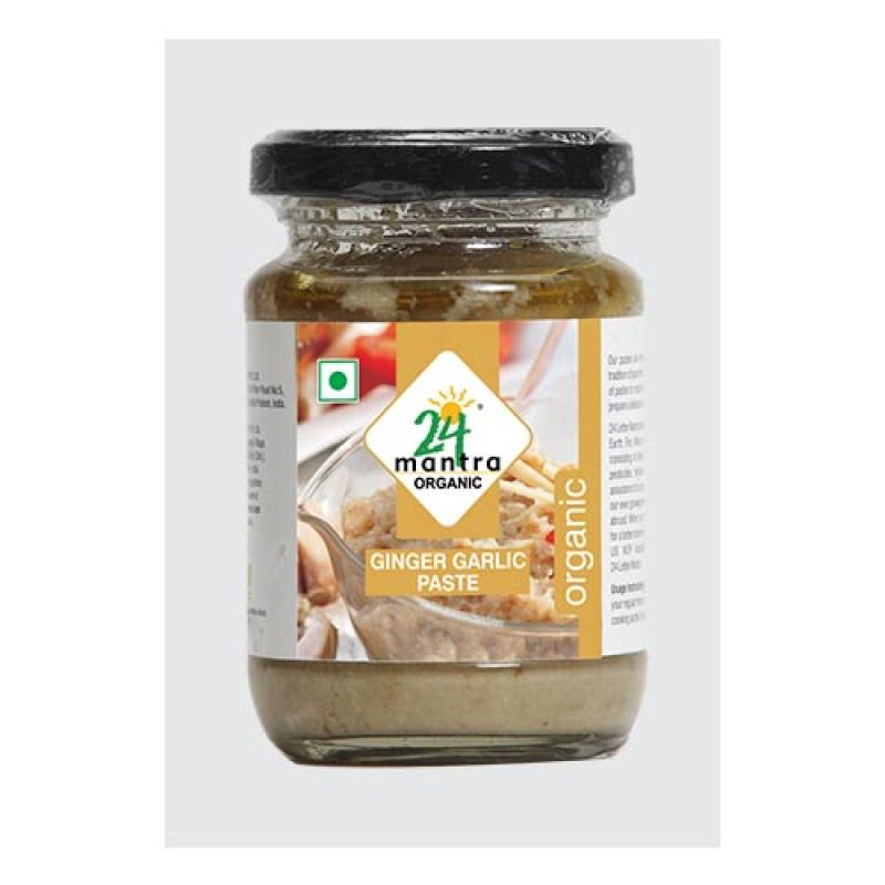 24 Mantra Ginger Garlic Paste 140 Gm