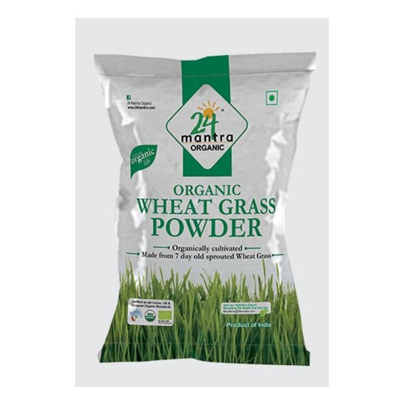 24 Mantra Wheat Grass Powder 290 Gm