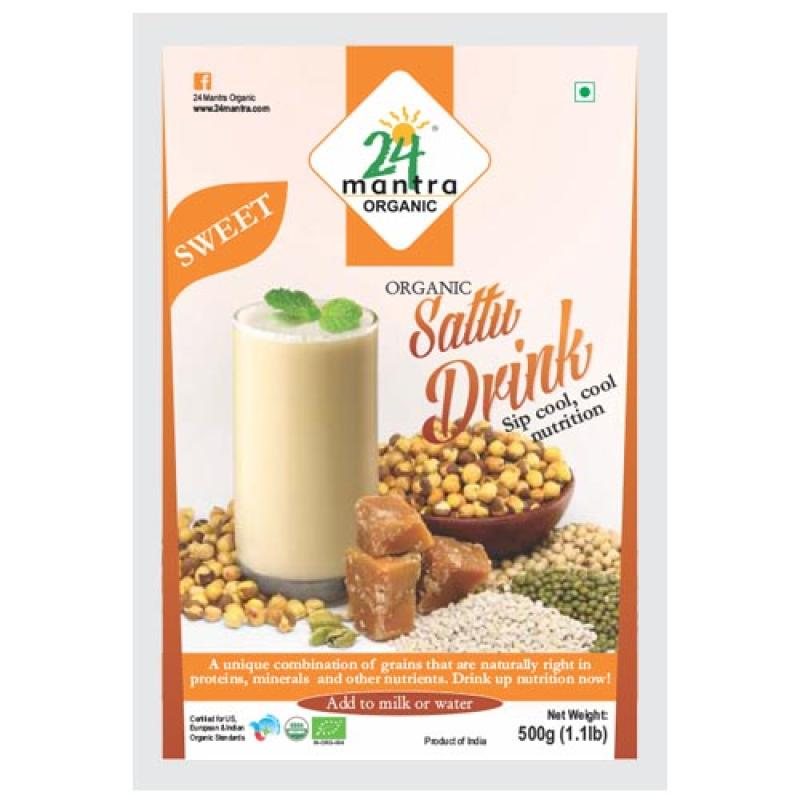 24 Mantra Sattu Drink 500 Gm
