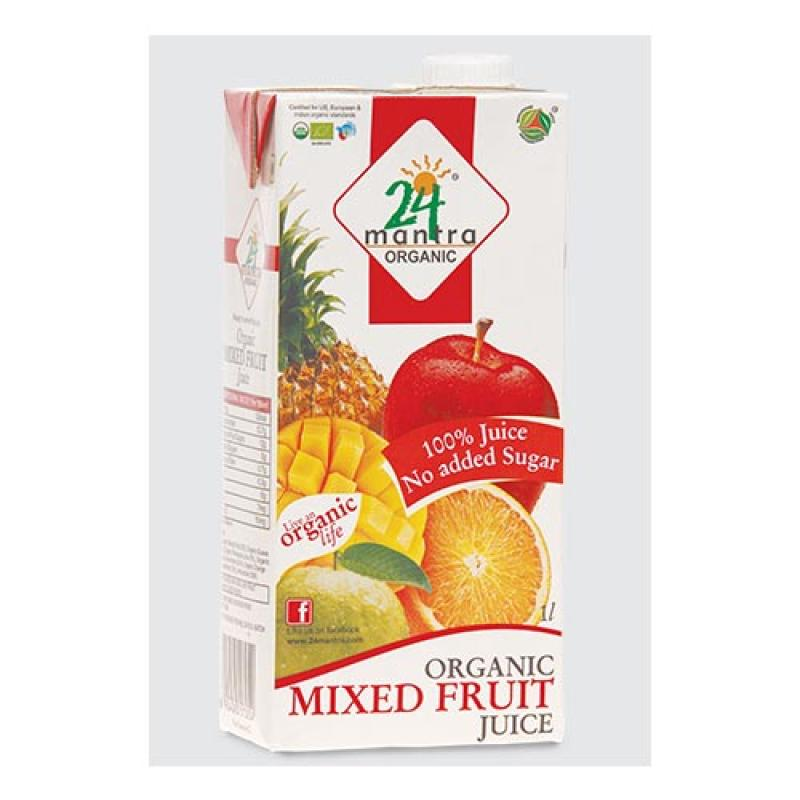 24 Mantra Mixed Fruit Juice 1 Ltr.