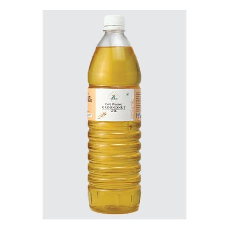 24 Mantra Cold Pressed Groundnut Oil