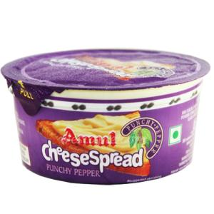 Amul Cheese Spread Punchy Pepper 200 gm