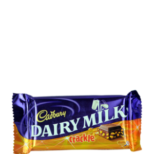 Cadbury Dairy Milk Chocolate - Crackle 38 gm Pouch