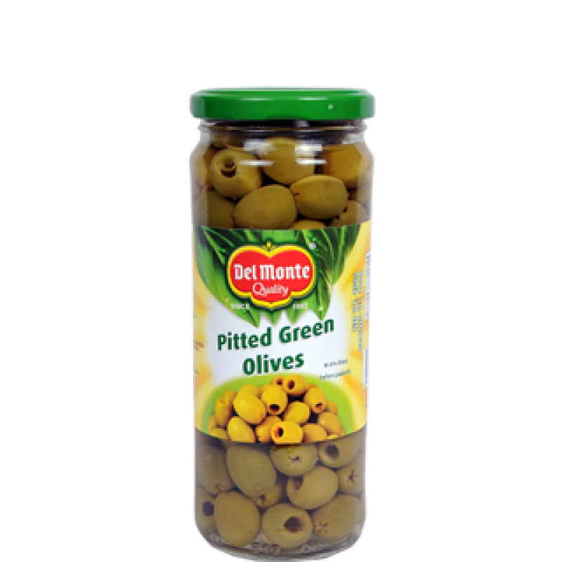 Del Monte Green Pitted Olives