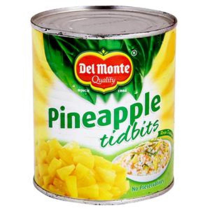 Del Monte Pineapple Tidbits 850 gm
