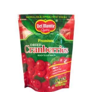 Del Monte Dried Cranberries 130 gm