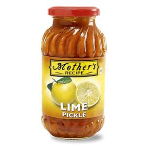 Mother's Recipe Lime Pickle Bottle