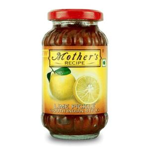 Mother's Recipe Lime South Indian Style 300 gm bottle
