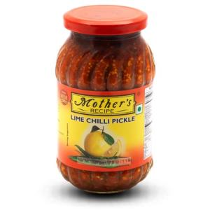 Mother's Recipe Lime Chilli 300 gm bottle