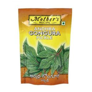 Mother's Recipe Andhra Gongura Garlic 200 gm pack