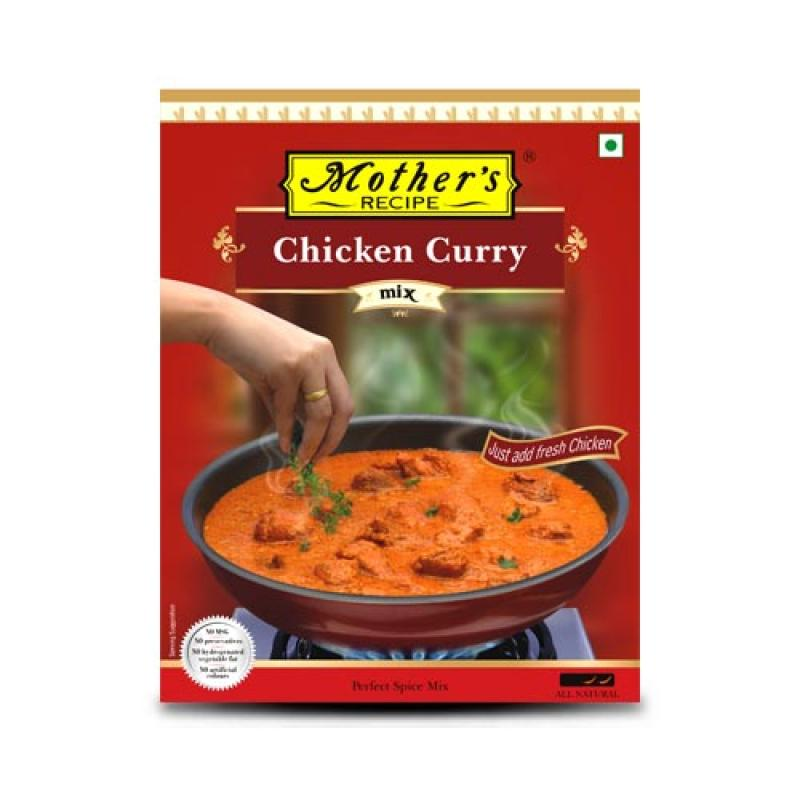 Mother's Recipe Chicken Curry 80 gm pack