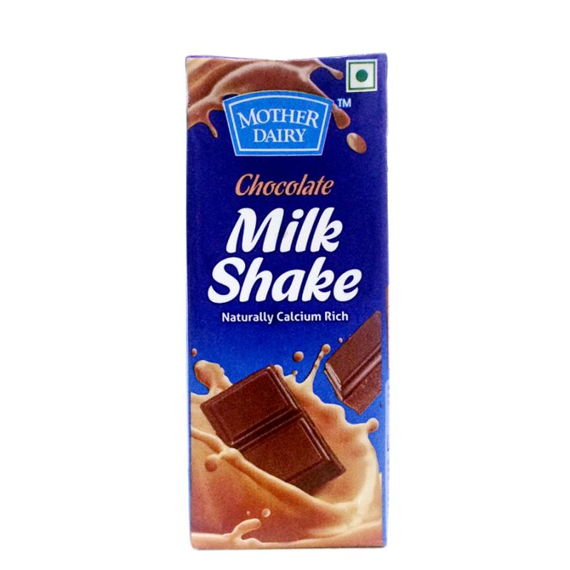 Mother Dairy Milk Shake Chocolate 200Ml.
