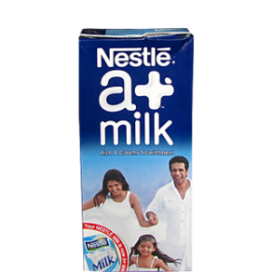 Nestle A+ Toned Milk 1 lt Carton