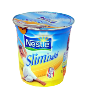 Nestle A+ Slim Dahi - Low Fat 400 gm Cup