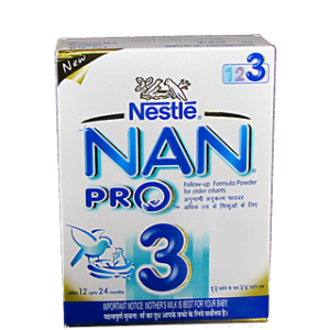 Nestle Nan Pro - Stage 3 400 gm Carton