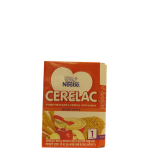 Nestle Cerelac - Wheat Apple (Stage 1) 300 gm Carton
