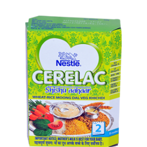 Nestle Cerelac - Wheat Rice Moong Dal Veg Kichdi (Stage 2 for 8 months & above) 300 gm Carton