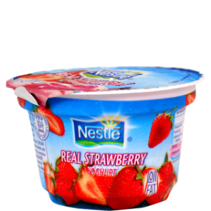 Nestle Yoghurt - Real Strawberry 100 gm Cup