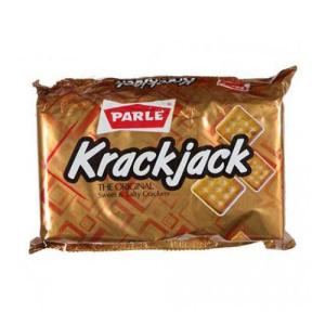 Parle Krackjack - The original Sweet and Salty crackers 200 gm Pouch