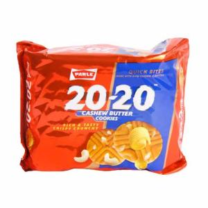 Parle 20-20 Cookies - Cashew 90 gm Pouch