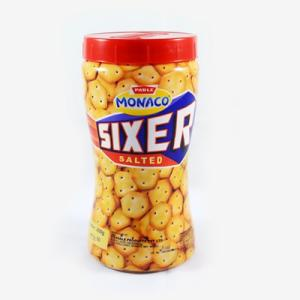 Parle Biscuits - Sixer (Salted) 200 gm Jar