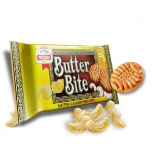 Priyagold Cookies - Butter Bite Cashew 750 gm