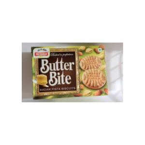 Priyagold Cookies - Butter Bite Pista & Almond 750 gm