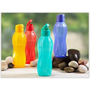 Tupperware 750 ml Aquasafe Bottle With Edd-Set of 4+1 image