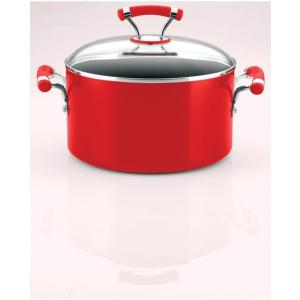 Prestige Circulon Contempo Red Sauce Pan with Lid