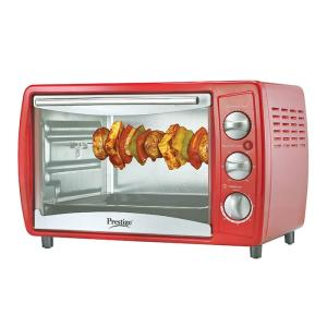 Prestige Oven, Toaster & Grill POTG 19L RED