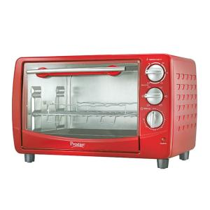 Prestige Oven, Toaster & Grill POTG 28L RED