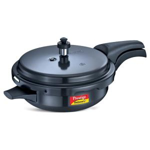 Prestige Deluxe Plus Hard Anodized Pressure Cooker Jr. Pr. Pan-Wl