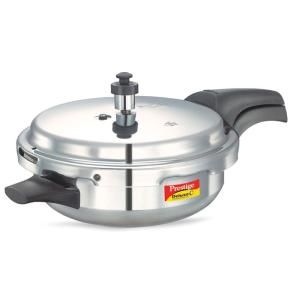 Prestige Deluxe Plus Aluminium Junior Pressure Pan with Lid