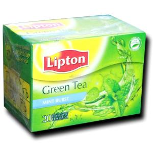 Lipton Green Tea Mint Burst Tea Bags