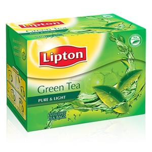 Lipton Pure & Light Green Tea Bags