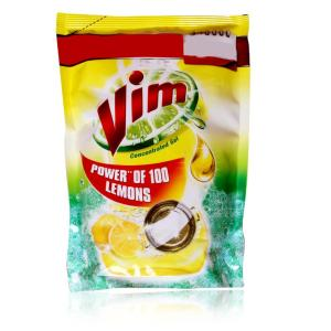Vim Concentrated Gel Pouch Power Of 100 Lemons 1ltr