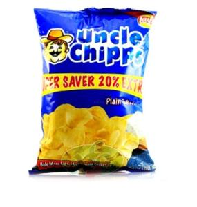 Uncle Chips Plain Salted 60 gm