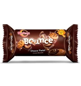Sunfeast Bounce Choco Twist Creme Biscuits