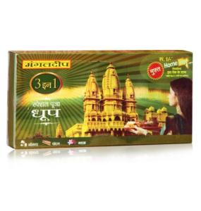 Mangaldeep 3 In 1 Special Puja Dhoop