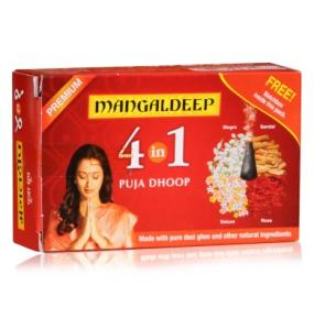 Mangaldeep 4 In 1 Puja Dhoop