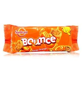 Sunfeast Bounce Tangy Orange Creme Biscuits