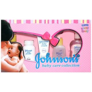 Johnson's baby Deluxe Baby Care Collection - Set Of 7