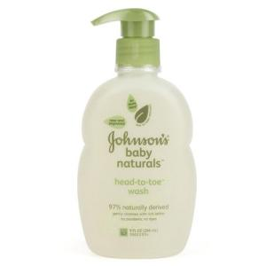 Johnson's baby Naturals Head to Toe Wash - 266 ml