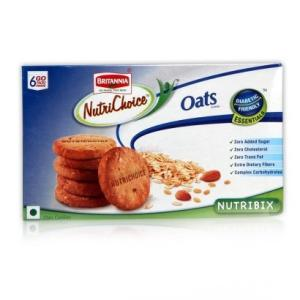 Britannia Nutri Choice Essentials Oats Cookies