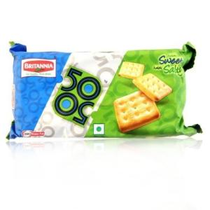 Britannia 50-50 Sweety Salty Biscuit
