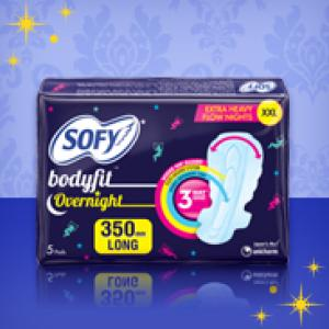 Sofy Bodyfit Overnight 350mm XXL 5 Pieces