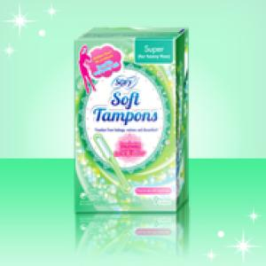 Sofy Soft Tampon Super 9 Pieces